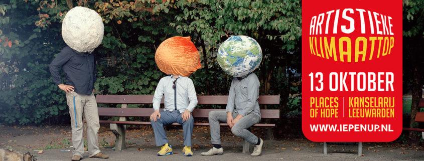 Turnleden op Artistieke Klimaattop