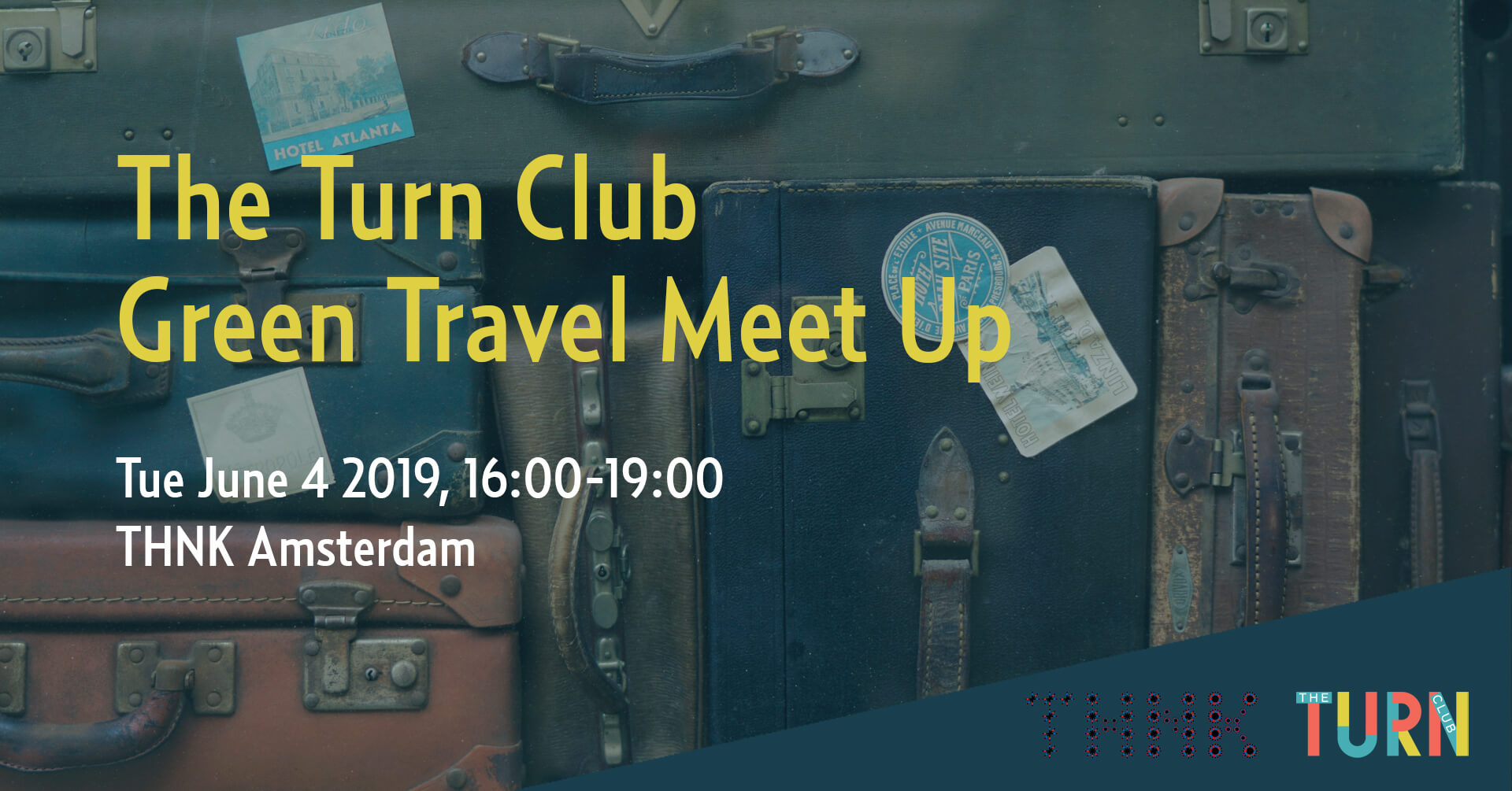Banner The Turn Club Green Travel Meet Up 4 june