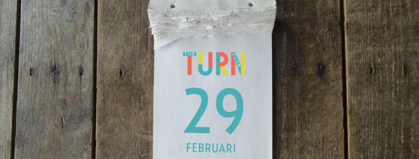 schrikkedag 29 februari 2020 The Turn Club